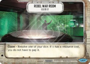 SW Destiny - Rebel War Room Yavin IV