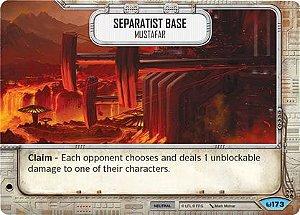 SW Destiny - Separatist Base Mustafar