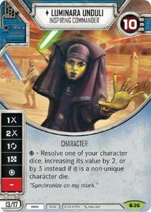 SW Destiny - Luminara Unduli Inspiring Commander