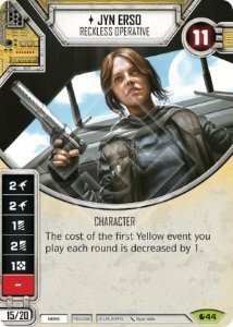 SW Destiny - Jyn Erso Reckless Operative