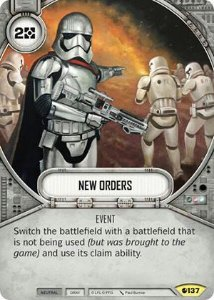 SW Destiny - New Orders