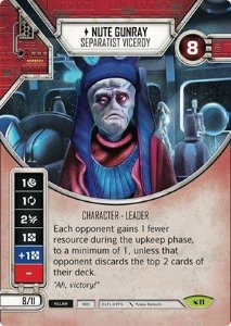 SW Destiny - Nute Gunray Separatist Viceroy
