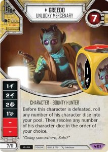 SW Destiny - Greedo Unlucky Mercenary