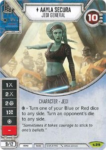 SW Destiny - Aayla Secura Jedi General