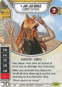 SW Destiny - Jar Jar Binks Clumsy Outcast