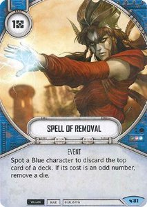 SW Destiny - Spell of Removal