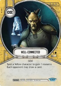 SW Destiny - Well-Connected