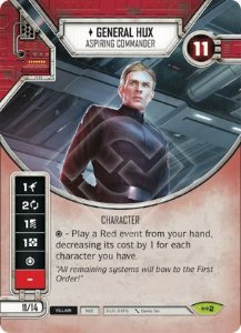 SW Destiny - General Hux Aspiring Commander