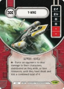 SW Destiny - Y-Wing