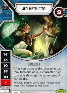SW Destiny - Jedi Instructor