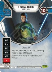SW Destiny - Kanan Jarrus Rebel Jedi