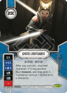 SW Destiny - Shoto Lightsaber