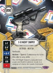 SW Destiny - X-8 Night Sniper