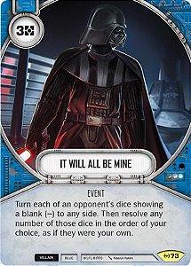 SW Destiny - It Will All Be Mine
