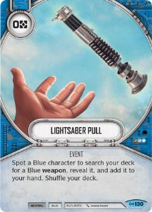 SW Destiny - Lightsaber Pull