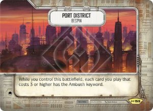 SW Destiny - Port District Bespin