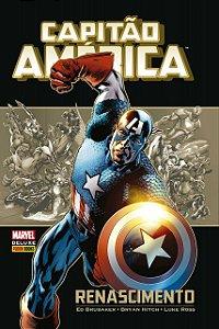 Marvel Deluxe - Capitão América Renascimento