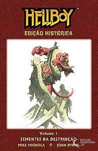 Hellboy Edição Histórica Volume 1 - Sementes da Destruição