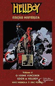 Hellboy Edição Histórica - Vol.6: O Verme Vencedor