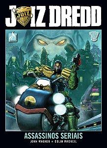 Juiz Dredd - Assassinos Seriais Capa Dura