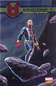 Miracleman #1 Capa Metálica