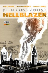 John Constantine Hellblazer O Mago que Ri