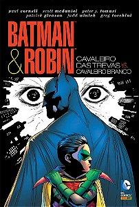 Batman e Robin Cavaleiro das Trevas Vs Cavaleiro Branco