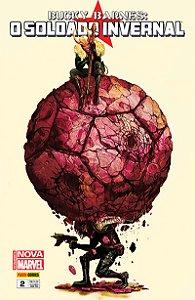 Bucky Barnes Nova Marvel - O Soldado Invernal #2