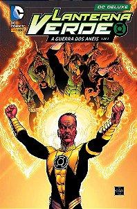 Lanterna Verde A Guerra dos Anéis - Volume 1