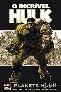 Marvel Deluxe - O Incrível Hulk Planeta Hulk