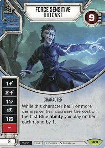 SW Destiny - Force Sensitive Outcast