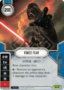 SW Destiny - Force Fear