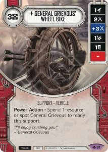 SW Destiny - General Grievous' Wheel Bike