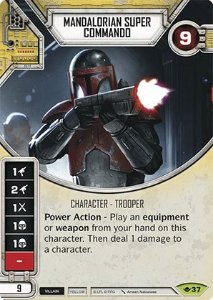 SW Destiny - Mandalorian Super Commando