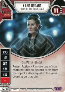 SW Destiny - Leia Organa Heart of the Resistance