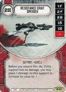 SW Destiny - Resistance Crait Speeder