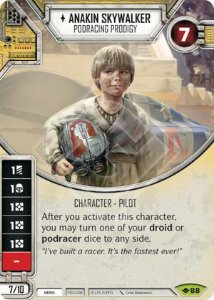 SW Destiny - Anakin Skywalker Podracing Prodigy
