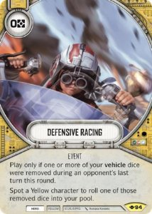 SW Destiny - Defensive Racing
