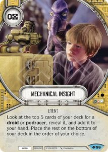 SW Destiny - Mechanical Insight
