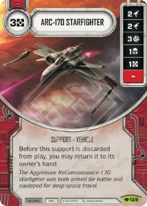 SW Destiny - ARC-170 Starfighter