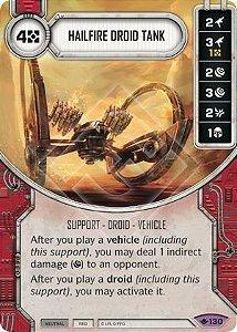 SW Destiny - Hailfire Droid Tank