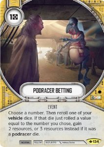 SW Destiny -Podracer Betting
