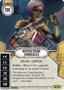 SW Destiny - Mandalorian Vambraces
