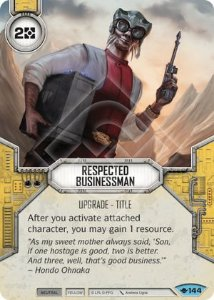 SW Destiny - Respected Businessman