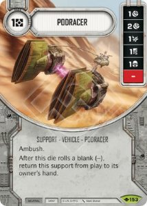 SW Destiny - Podracer