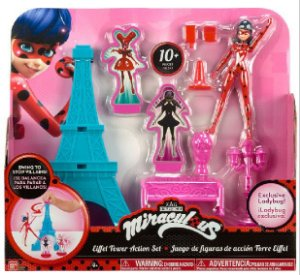Miraculous As Aventuras de Ladybug - Playset Torre Eiffel