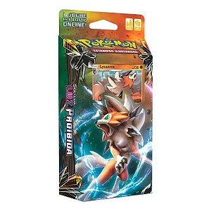 Pokémon Deck Sol E Lua - Luz Proibida Lycanroc
