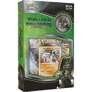 Pokémon Box Coleção com Broche - Zygarde