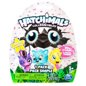 Hatchimals Colleggtibles Saquinho Season 1 Mini Figura Surpresa