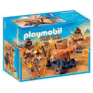 Playmobil Egito 5388 - Soldado Do Faraó Com Atiradeira